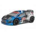 Karoseria 1/10 Rally Car Painted Body Blue (Strada RX)
