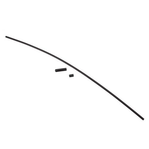 Osłona anteny z gumową końcówką (czarna)