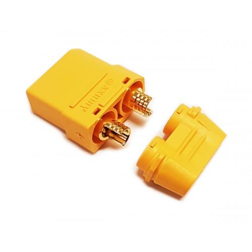 Konektor XT90+ PLUS z osłoną (gniazdo)