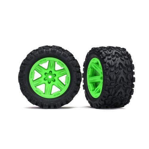 """Koła 2szt. 1/10 Talon Extreme 2.8"""" & RXT (green)"""