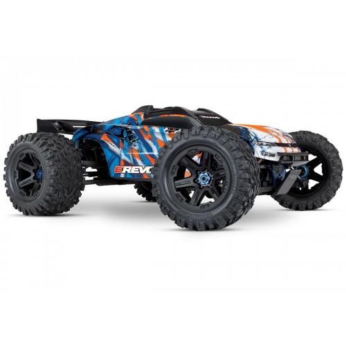 Auto E-Revo 2.0 Brushless 1/10 4WD Monster Truck + TSM (pomarańczowy)
