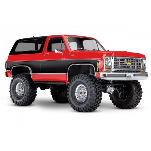 TRX-4 Chevrolet K5 Blazer (Czerwony)