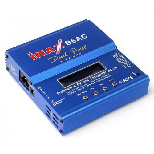 Ładowarka B6AC 80W 6A 12V/230V + sensor temp.