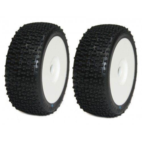 Koła 2szt. Buggy 1/8 Gravity M2 (Medium) Tires & Rex Wheels