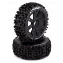 Koła 2szt. Buggy 1/8 Lockup C2 (Soft) Tires & Spoke Wheels