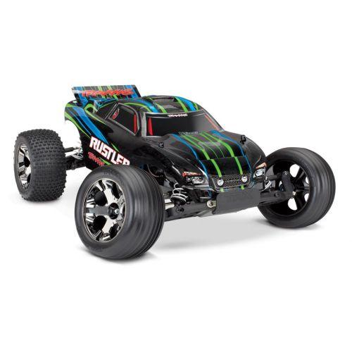 Auto Rustler VXL 2WD 1/10 + TSM (zielony)