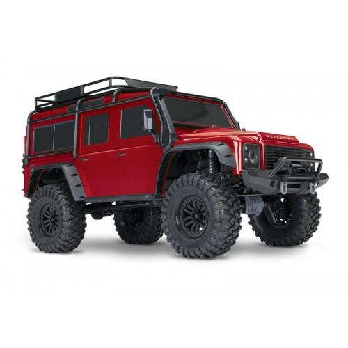 Auto TRX-4 Land Rover Defender (czerwony)