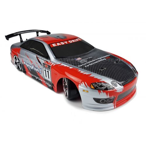 Drift Car TC (HSP Flying Fish 1) - Toyota Soarer 1/10 2.4GHz (Czerwony)