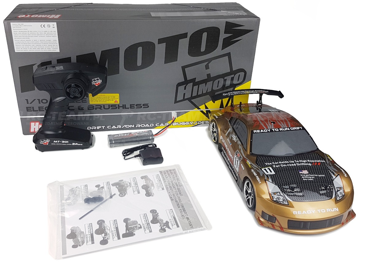 HIMOTO Drift Car TC (HSP Flying Fish 1) Nissan 350Z 1/10 2.4GHz RTR