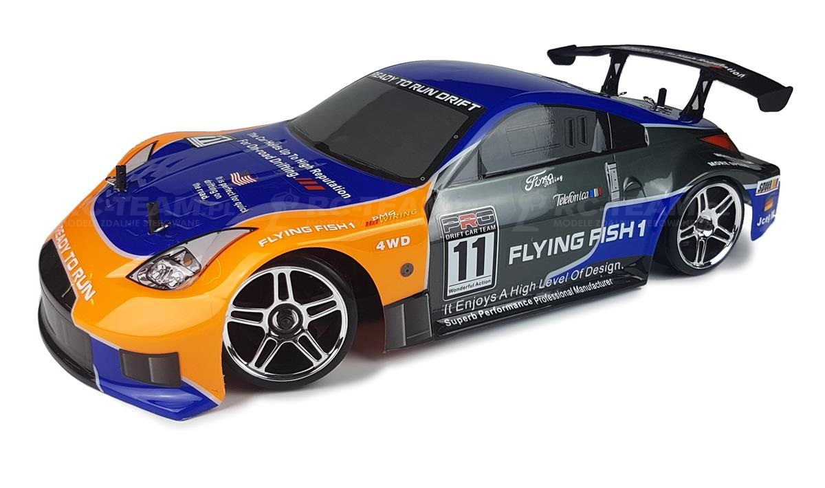 HIMOTO Drift Car TC (HSP Flying Fish 1) Nissan 350Z 1/10 2.4GHz RTR