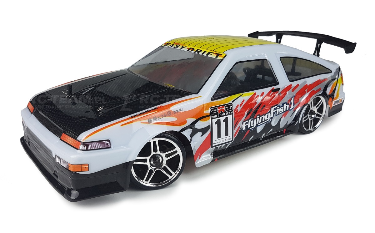 HIMOTO Drift Car TC (HSP Flying Fish 1) Toyota AE86 Trueno 1/10 2.4GHz RTR