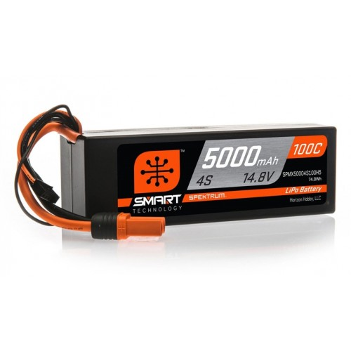 Akumulator Smart LiPol Car 5000mAh 4S 14.8V 100C HC IC5