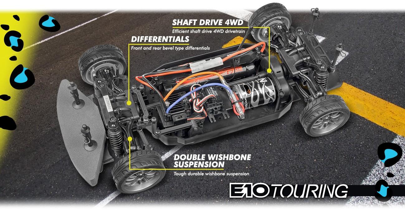 Model E10 Michele Abbate GrrRacing 4WD 1/10 RTR
