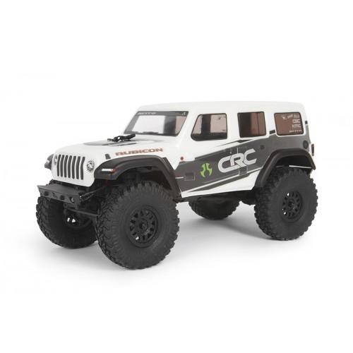 SCX24 2019 Jeep Wrangler JLU CRC 1/24 4WD RTR (Biały)