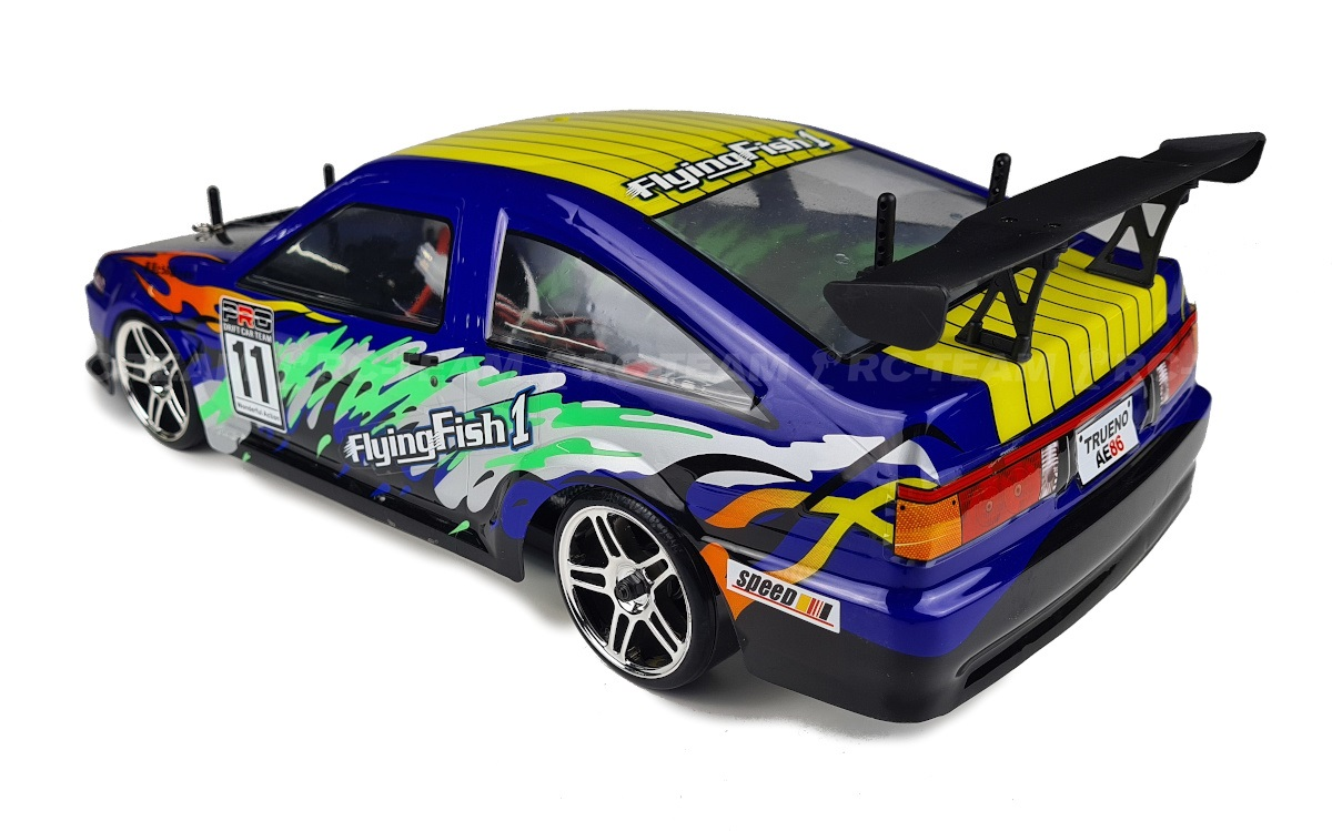 HIMOTO Drift Car TC (HSP Flying Fish 1) Toyota AE86 Trueno 1/10 2.4GHz RTR