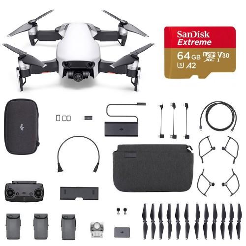 Dron Mavic Air Fly More Combo Arctic White Refurbished + Karta 64GB + Szkolenie -20%