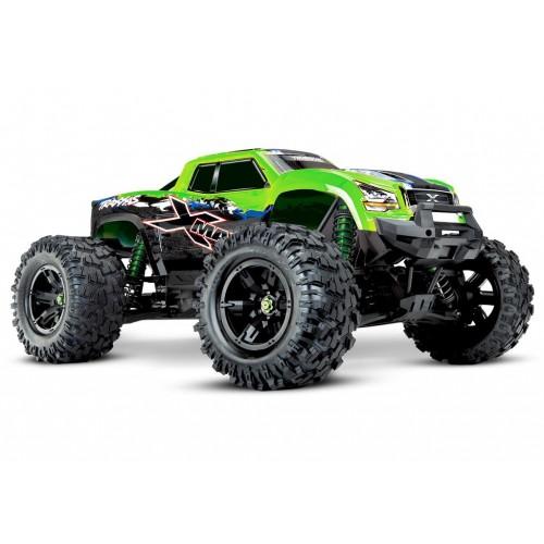 Najnowszy X-Maxx 8S 4WD 1/5 Monster Truck (zielony)