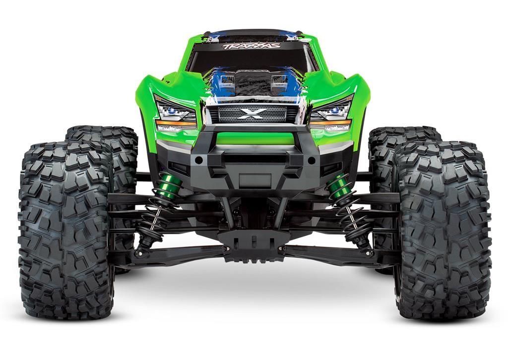 TRAXXAS X-Maxx 8S 4WD 1/5 Monster Truck Zielony