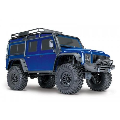Auto TRX-4 Land Rover Defender (Niebieski)