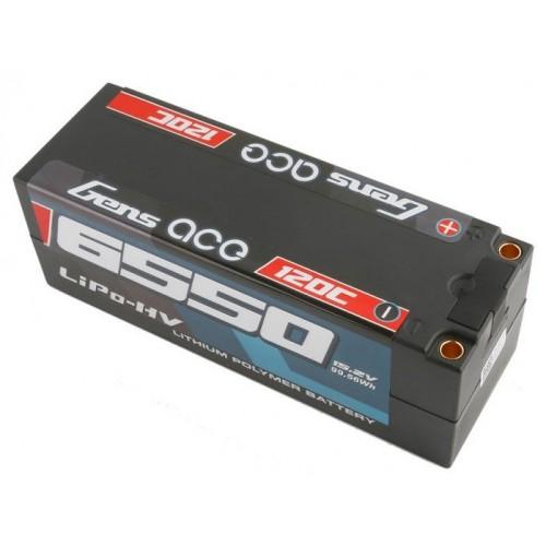 Akumulator HARDCASE LiPo HV 15,2V (14,8V) 6550mAh 120C 4S1P (High Voltage)