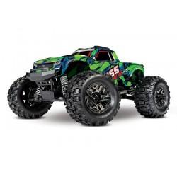 TRAXXAS Auto Hoss 4X4 VXL Monster Truck (Zielony)
