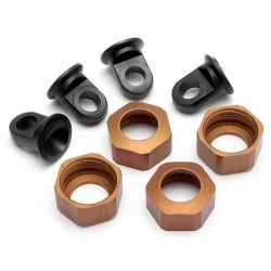 SHOCK CAPS FOR C8104,8105 STD. BROWN 4PCS LIGHT. SERIES