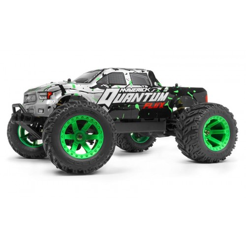 Quantum MT Flux 1/10 4WD Monster Truck RTR (Silver)