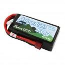 Akumulator LiPo Adventure Shorty HV 11,4V (11,1V) 4300mAh 50C 3S1P T-DEAN (B-A-50C-4300-3S1P-S-HV)