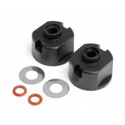 Differential Case, Seals With Washers (2Pcs) (ALL Strada and EVO)