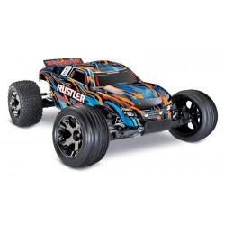 TRAXXAS Auto Rustler VXL 2WD 1/10 + TSM (OrangeX)
