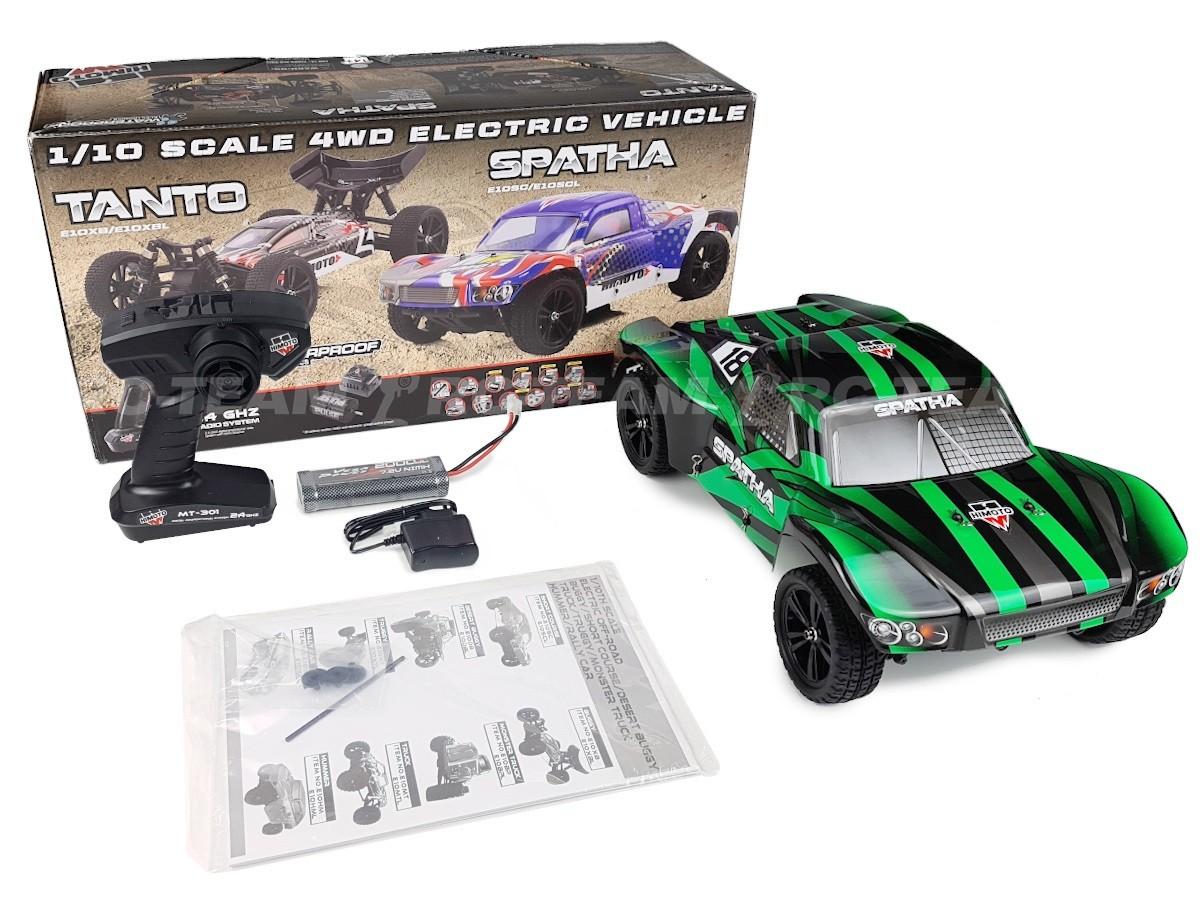 HIMOTO Spatha Short Course Truck E10SC 1/10 2.4GHz RTR