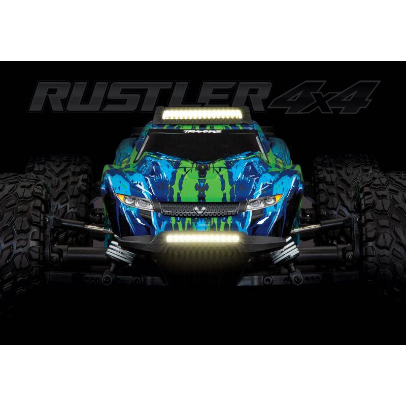TRAXXAS - komplet oświetlenia LED - Rustler 4X4
