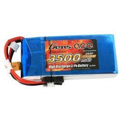 GENS ACE Akumulator LiPo Gens Ace 3500mAh 7,4V 1C 2S1P RX/TX