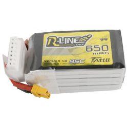 GENS ACE Akumulator LiPo Tattu R-Line 650mAh 22,2V 95C 6S1P XT30U-F