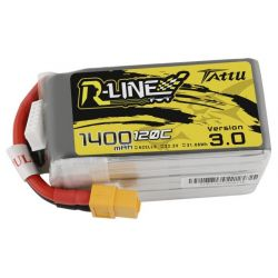 GENS ACE Akumulator LiPo Tattu R-Line 3.0 1400mAh 22.2V 120C 6S1P XT60