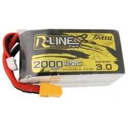 GENS ACE Akumulator Tattu R-Line Version 3.0 2000mAh 14,8V 120C 4S1P XT60