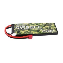 GENS ACE Akumulator LiPo 25/50C 2700mAh 2S1P 7.4V DEAN, do broni Airsoft
