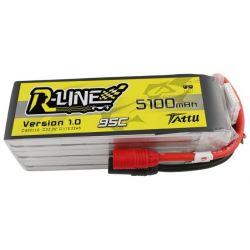 GENS ACE Akumulator LiPo Tattu R-Line 5100mAh 22,2V 95C 6S1P AS150
