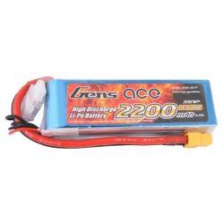 GENS ACE Akumulator LiPo 2200mAh 11.1V 45C 3S1P XT60
