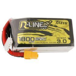 GENS ACE Akumulator LiPo Tattu R-Line 3.0 1800mAh 14,8V 120C 4S1P XT60
