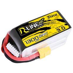 Akumulator Tattu R-Line Version 3.0 1300mAh 22,2V 120C 6S1P XT60