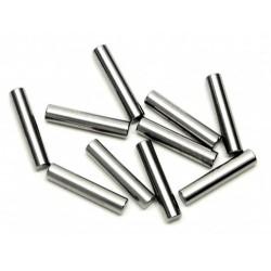 PIN 2 x 10mm SILVER (10 pcs)