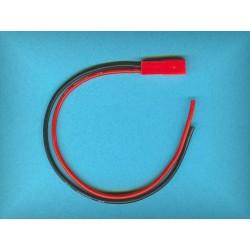 Przewód zasilający z gniazdem BEC (silikon) 0,5mm²