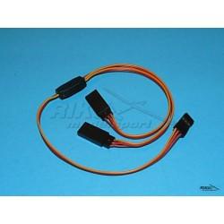 Przewód - Y kabel, 0,25mm, dł. 34cm.