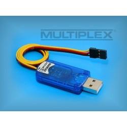 Multiplex [85149]. Przewód USB-PC do odbiorników RX-SYNTH.