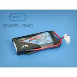 Batterist  - pakiet LiPo 800mAh / 2S - 25C