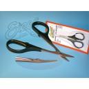 EXCEL [55 533] - nożyczki do lexanu, zakrzywione ostrza