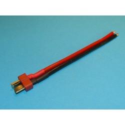 Przewód silikonowy z końcówką DEAN-T - wtyk