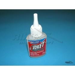 Roket Hot - klej cyjanoakrylowy 1-5s, 20g - rzadki.