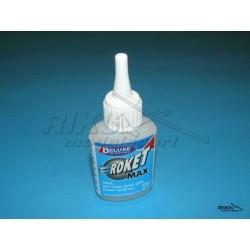 Roket Max - klej cyjanoakrylowy 10-20s, 20g - gęsty.